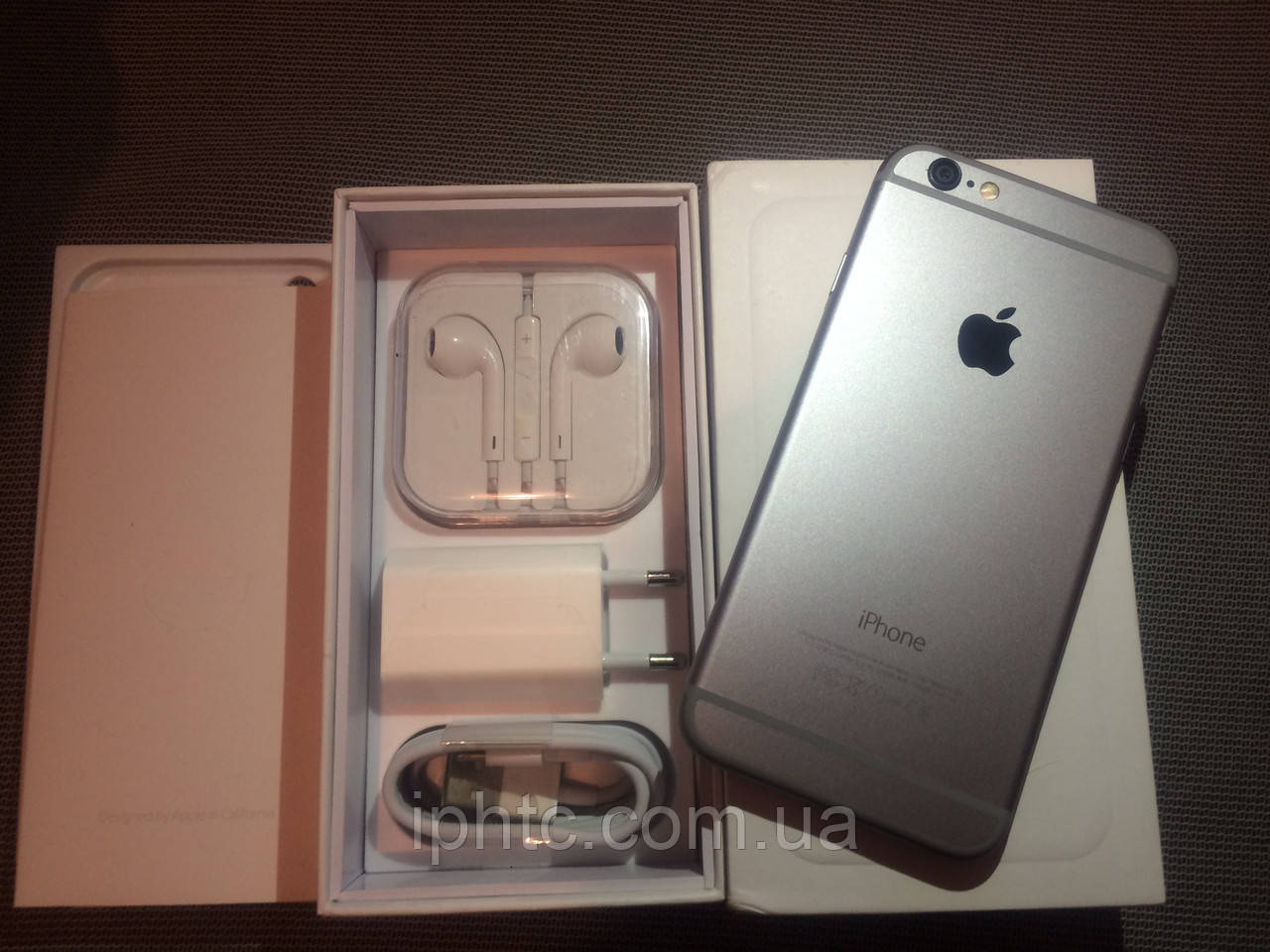 Apple iPhone 6 16GB Grey / NeverLock. Как новый