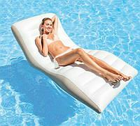 Надувное кресло-шезлонг Intex 56861, 193*102см
