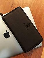 Мужской кожанный кошелек-портмоне Bradford (коричневый)