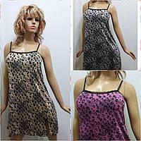 Женская ночная сорочка на тонком плечике, фото 1