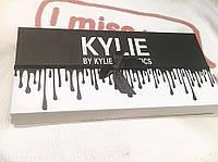 Набор помад KYLIE Lipstick Black Edition 12 шт! Помада Кайли черная с бантиком - АКЦИЯ  - Скидка 30%!