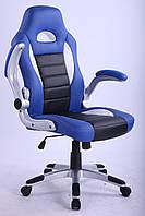 Кресло гейметское Forsage blue BK WH BL 3303 Goodwin