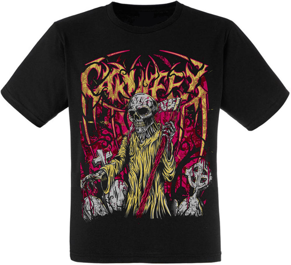 "Футболка Carnifex ""Death Symphonic Dark Evil Skull"""