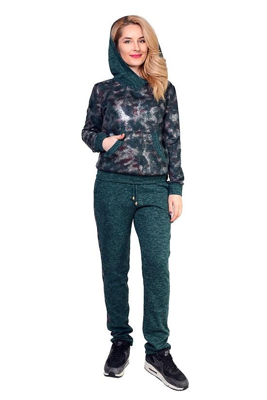 Суперстильный прогулочный женский костюм (в расцветках)
