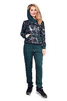 Суперстильный прогулочный женский костюм (в расцветках), фото 1