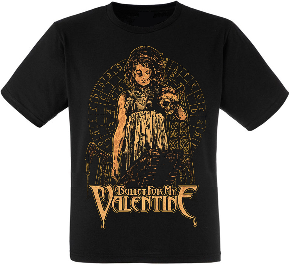 """Футболка Bullet For My Valentine """"Child With A Skull"""""""