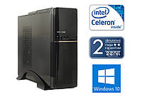 Системный блок ZEN008 (Intel Celeron J1800/4GB DDR3/250GB HDD/Mini-ITX)