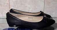 Туфли женские на низком ходу  36,37 маломерят