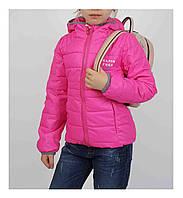 Куртка для девочки  1863 весна-осень, размеры на рост от 116 до 134 возраст от 6 до 11 лет, фото 1