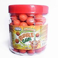 Bubble Gum Orange жевательные резинки апельсиновый вкус 125 шт Турция