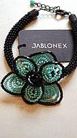 Чешский браслет из биссера  Летние цветы