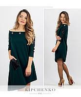 Бутылочное платье 15438