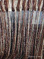 Шторы-нити,люрекс радуга 3мх3м, фото 1