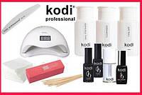 "Стартовый набор гель лаков Kodi ""Luxury"" c UV LED лампа SUN5 48 Вт."