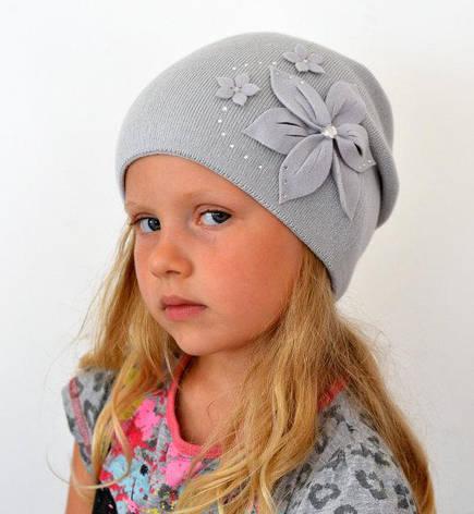 Шапка для девочек Арктик Лотос, шапки детские, фото 2