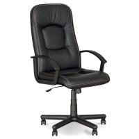Кресла офисные для руководителей нс ECO-30 черный Omega кожа Eco 68x52x111-120см, пласт-подлок - ✔ MDNgroup™ Онлайн - Супермаркет Будущего! в Харькове