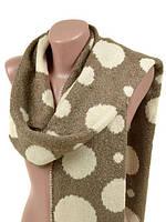 Женский теплый шарфик