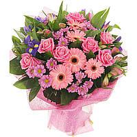 Вафельная картинка цветы, для торта