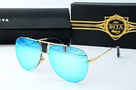 Солнцезащитные очки Dita голубые