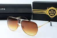 Солнцезащитные очки Dita коричневые