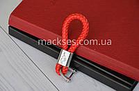 Брелок кожаный Mackses Mustang Красный