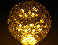 Светодиодная лампа Эдисона 3Вт G95R E27 DIP , фото 1