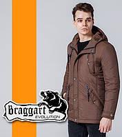 Braggart   Демисезонная мужская ветровка 1342 коричневая, фото 1