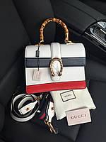 Женская сумочка Gucci 'Dionysus' бамбук (реплика), фото 1
