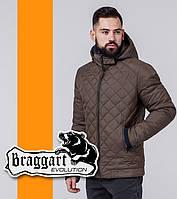 Braggart | Куртка демисезонная мужская 1652 коричневая, фото 1