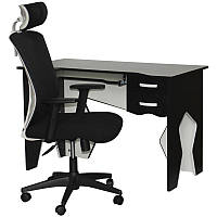 Набор стол и кресло Barsky Homework White HG-03/BM-04