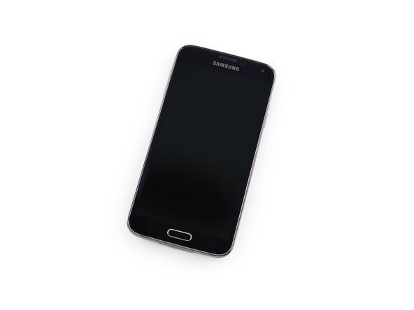 Дисплей модуль Samsung G900 Galaxy S5 G900 в зборі з тачскріном, чорний