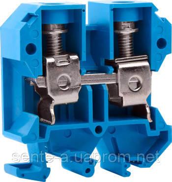Клеммная колодка наборная на DIN -рейку e.tc.din.pro.35.blue, синий