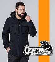 Braggart | Парка мужская весенняя 4775 черная, фото 1