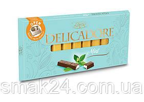Шоколад DELIKADOR Mint ( с мятой) Baron Польша 200г