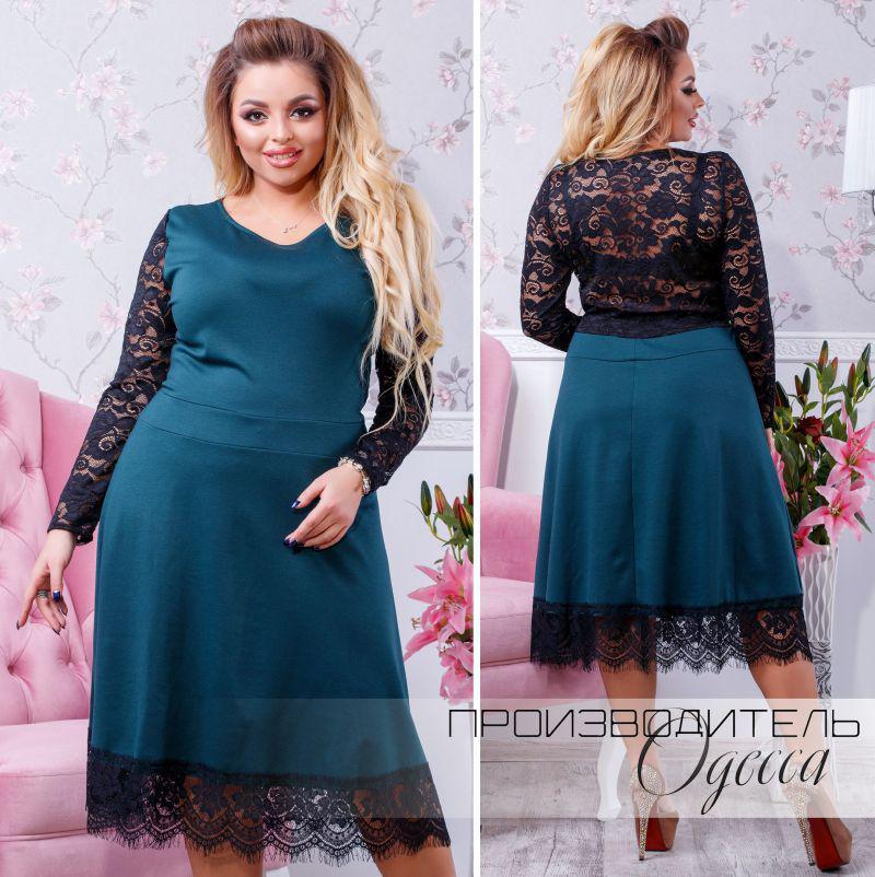 01071444c8e Красивое платье большого размера с гипюром и кружевом Прямой поставщик  Производитель Одесса (48-58