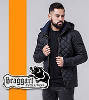 Braggart | Мужская весенне-осенняя ветровка 1652 черная, фото 1