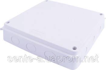 Монтажная коробка e.db.pro.oe.255.200.80, IP 65, без отверстий для ввода