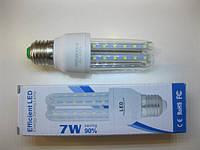 Светодиодная LED лампочка  E27 7W