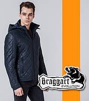 Braggart   Мужская ветровка демисезон 7034 темно-синяя, фото 1