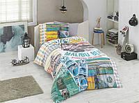 Комплект постельного белья  Hobby поплин размер полуторный Malibu Beach