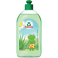 Фрош - натуральное  средство  для мытья посуды с Алое Вера  Frosch Aloe Vera  500 мл