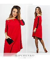 Красное платье 15438