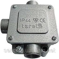 Коробка монтажная  металлическая Р11/3, IP 44, 400 B, 5*2,5