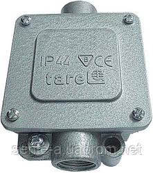 Коробка монтажная  металлическая Р16/2, IP 44, 400 B, 5*4
