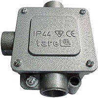 Коробка монтажная  металлическая Р36/3, IP 44, 380 B, 5*16