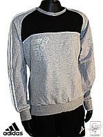 Лонгслив Adidas Оригинал p. M 48-50 спортивный джемпер мужской спортивная кофта серый