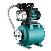 Станція Leo 0.8 кВт Hmax 40м Qmax 60л/мін (відцентровий самовсас. насос нерж) 24л (776252)