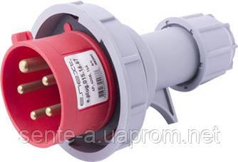 Силовая вилка переносная e.plug.015.16.67, 5п., 400В, 16А, IP 67