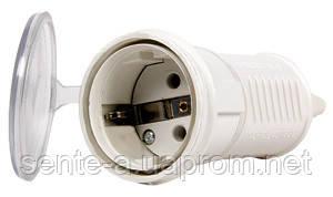 Розетка переносная e.socket.pro.2.16, 2п., 220В, 16А (212)
