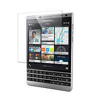Бронированная защитная пленка (стекло) для BlackBerry Passport SILVER EDITION, 0,4 mm Глянцевая /накладка/наклейка /блекбери/Защитное стекло/закаленно
